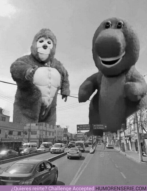 65764 - Ojalá una versión así de Godzilla VS Kong