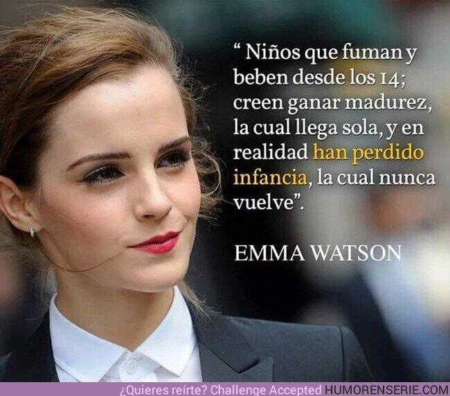 65773 - Qué razón tiene Emma Watson
