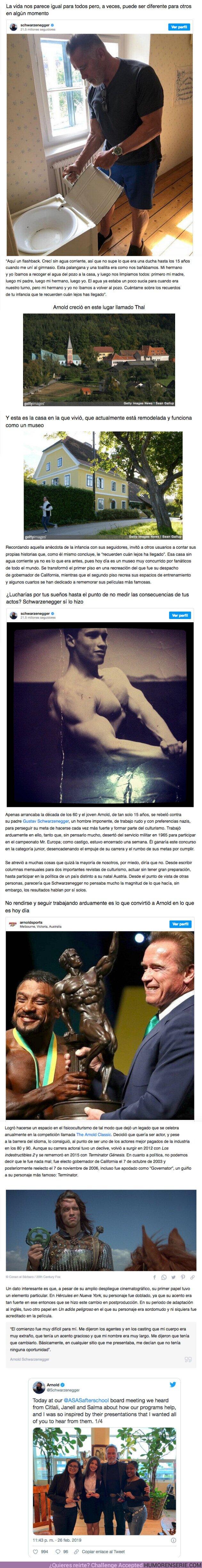 66034 - GALERÍA: Arnold Schwarzenegger contó una historia de su infancia en Instagram y quedamos boquiabiertos