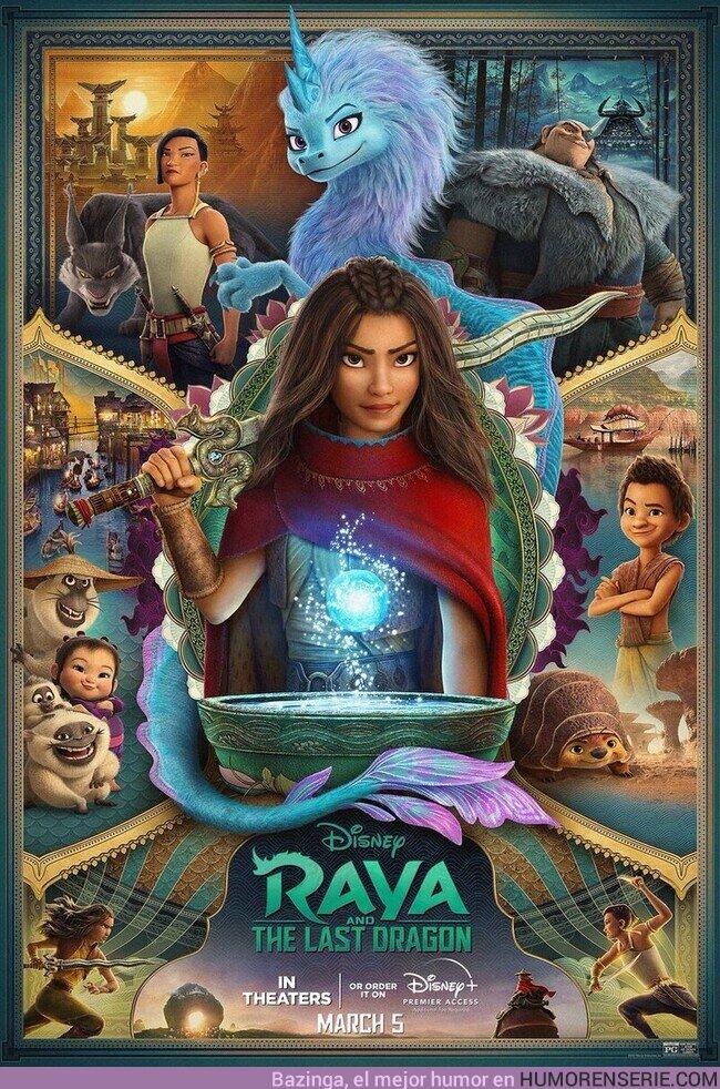 66066 - Nuevo poster de Raya y El Último Dragon.Estreno el 5 de Marzo