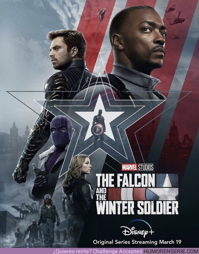 66124 - Nuevo póster de #FalconAndWinterSoldier
