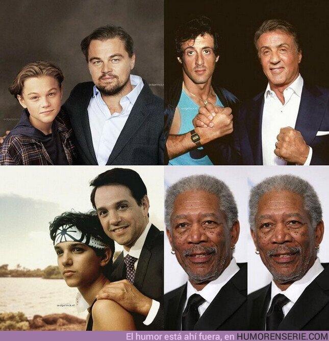 66377 - Morgan Freeman siempre ha sido joven