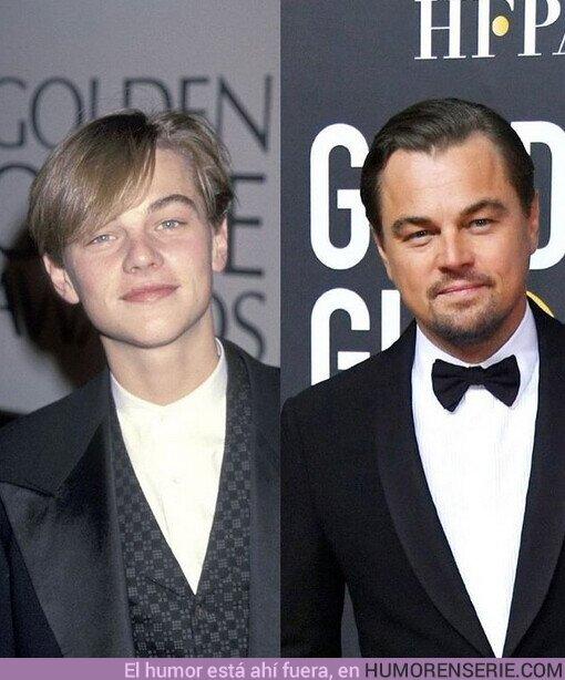 66902 - Primera y última participación de Leonardo DiCaprio en los #GoldenGlobes