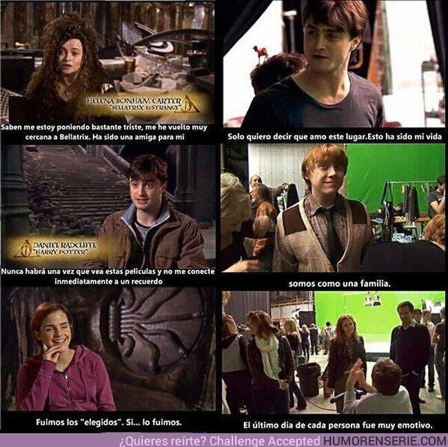 67020 - Palabras de los actores de Harry Potter el último día de rodaje