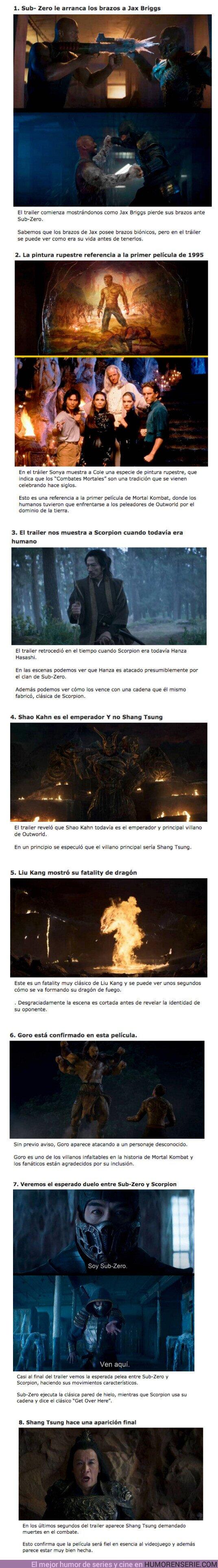 """67078 - GALERÍA: 8 Detalles que te perdiste en el trailer de la nueva película de """"Mortal Kombat"""""""