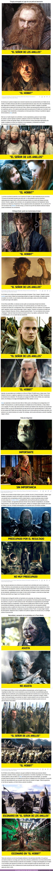 """67095 - GALERÍA: Por qué """"El señor de los Anillos"""" es una obra de arte cinematográfica al estilo de ciencia ficción y """"El Hobbit"""" está lejos de serlo"""