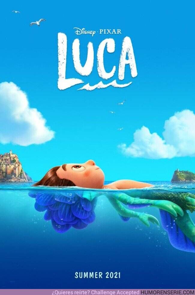 67434 - Teaser póster de #Luca, la nueva película de Disney Pixar