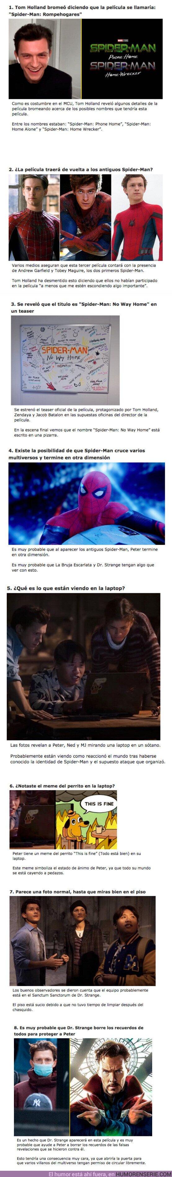 """67491 - GALERÍA: 8 Curiosidades sobre la futura película """"Spider-Man: No Way Home"""""""
