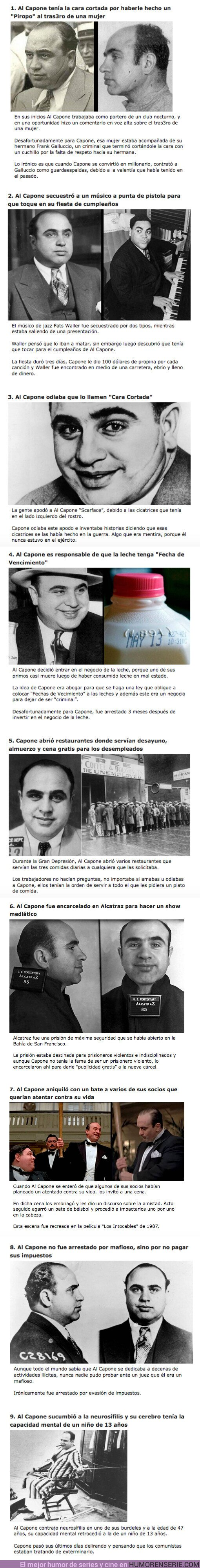 """67494 - GALERÍA: 9 Curiosidades sobre el criminal más famoso de la historia: """"Al Capone"""""""