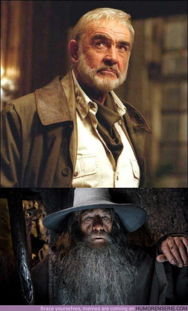67530 - ¿Sabíais esto? Sean Connery iba a ser Gandalf, pero no le llamó la atención el proyecto y decidió no participar, dejando lugar a Ian McKellen