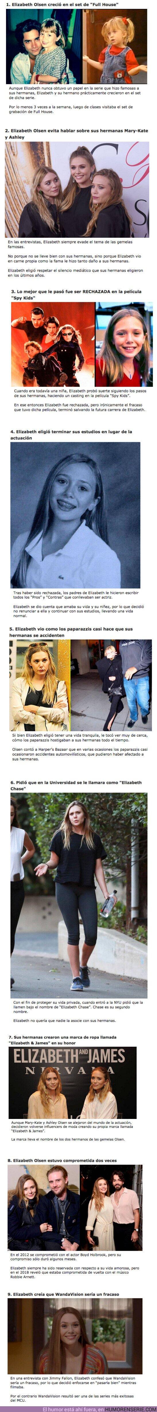 68363 - GALERÍA: 9 Curiosidades sobre la vida privada de Elizabeth Olsen