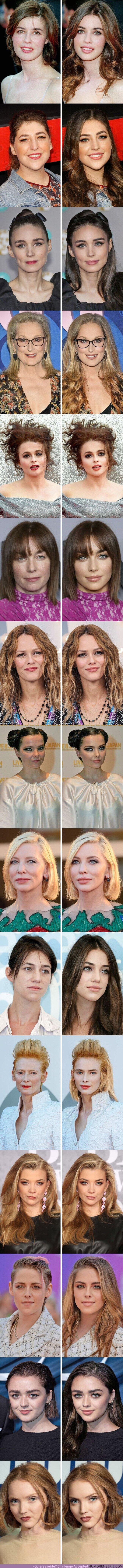 68501 - GALERÍA: Cómo se verían 15 actrices con una apariencia inusual si siguieran todas las tendencias de la moda actual