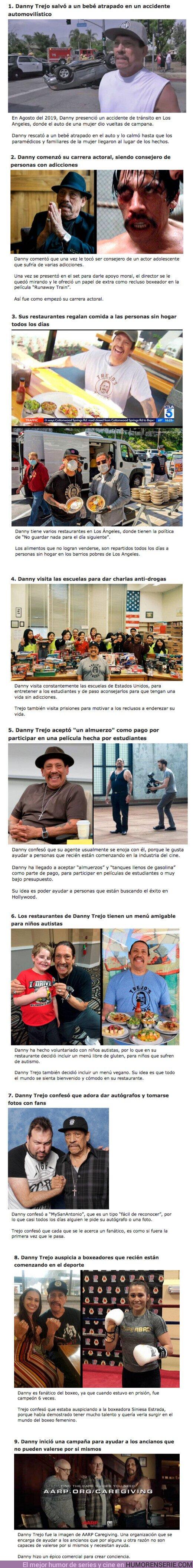 """68567 - GALERÍA: 9 Veces en las que Danny Trejo demostró ser el """"Tipo Rudo"""" más ADORABLE de Hollywood"""