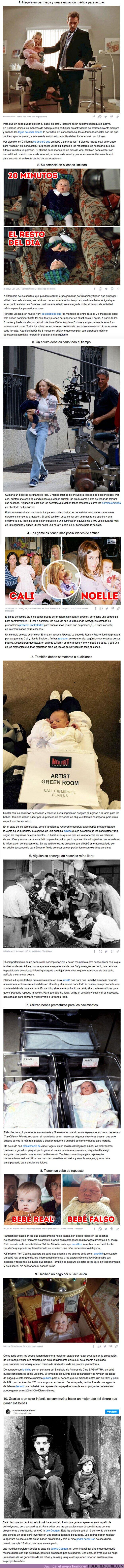 68652 - GALERÍA: 10 Hechos sobre el trabajo de los bebés actores en una serie o película