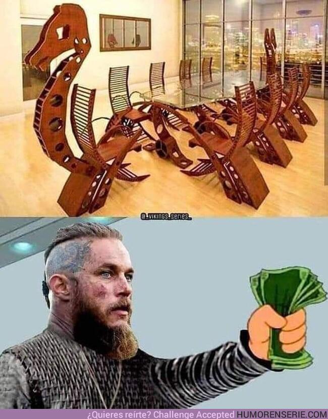 68849 - La mesa perfecta para los fans de Vikings
