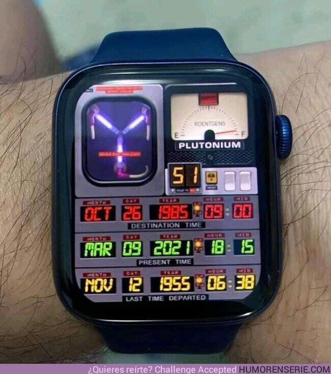 69108 - El único reloj que aunque no de la hora es perfecto