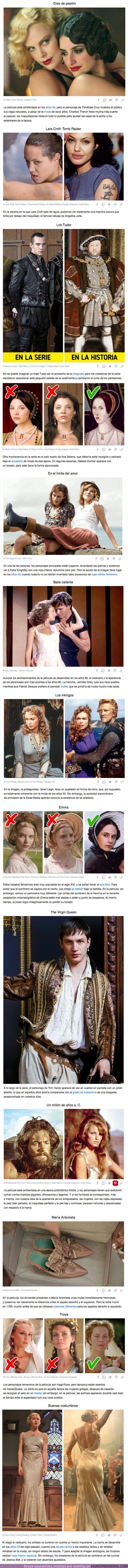 69132 - GALERÍA: 13 Casos en los que los maquilladores y diseñadores de vestuario cometieron errores imperdonables en películas famosas, y el público lo notó