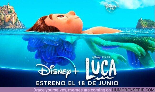 69305 - La película de#Pixar, Luca, se estrenará directamente en#DisneyPlussin coste adicional el 18 de junio