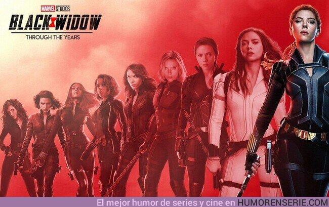 69412 - Black Widow a través de los años.