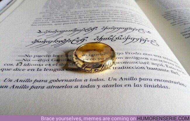 69470 - Hoy se celebra el Día Internacional de leer a Tolkien.