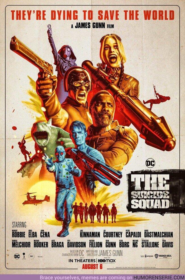 69535 - The Suicide Squad -Nuevo póster oficial