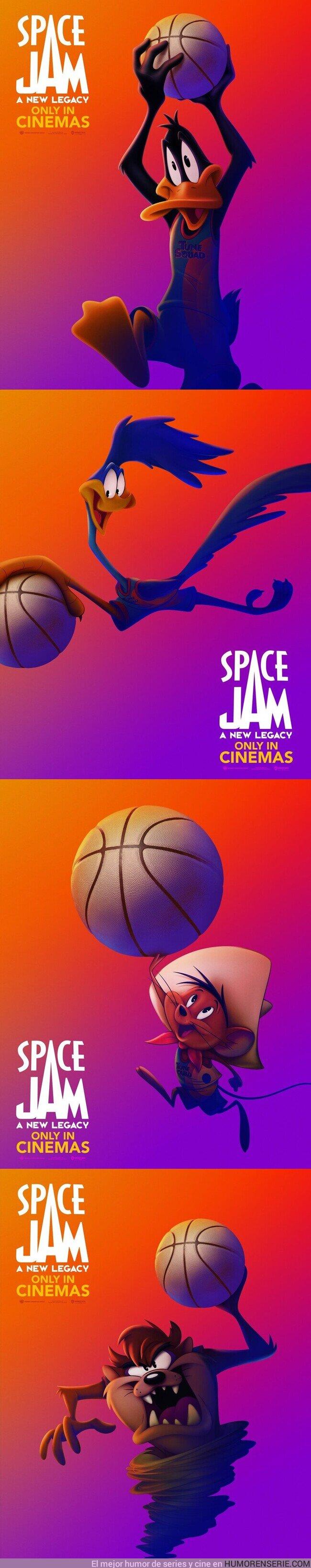 69820 - El equipo de los Tunes vuelve a la pista en Space Jam: Nuevas Leyendas.