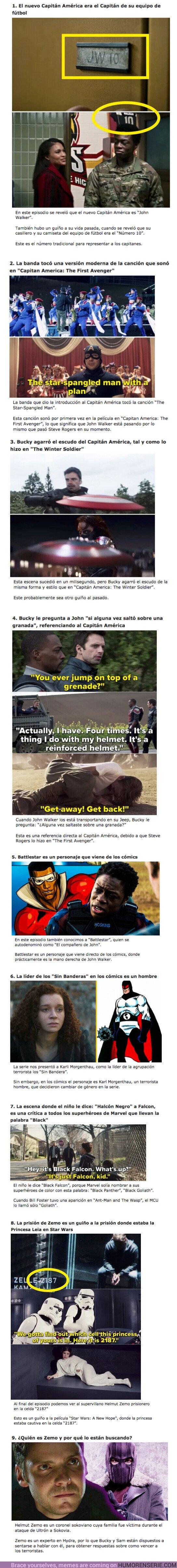 """69847 - GALERÍA: 9 Detalles ocultos que te perdiste en el Segundo Capítulo de """"The Falcon & The Winter Soldier"""""""