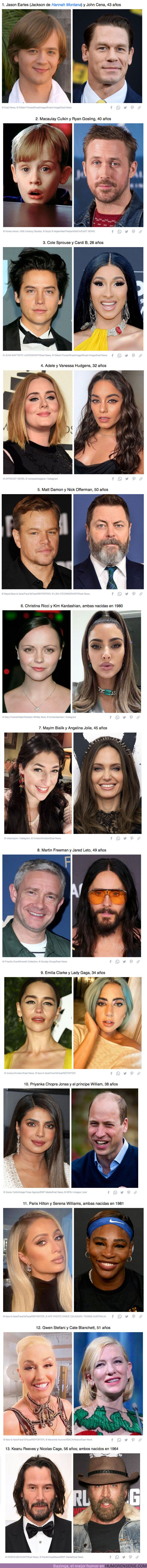 69871 - GALERÍA: 12+ Parejas de famosos que son sorprendentemente de la misma edad