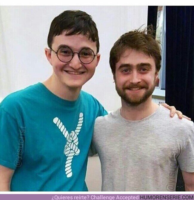 69937 - Cuando te pareces a Harry Potter más que el propio actor de Harry Potter