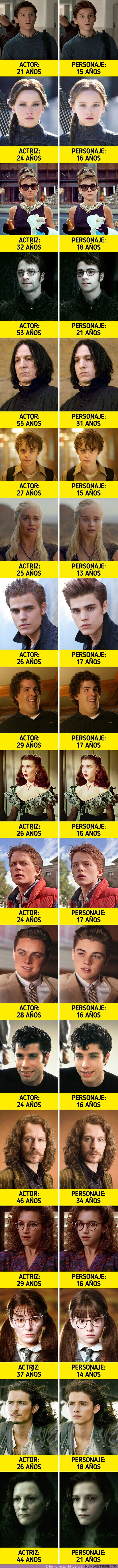 70007 - GALERÍA: Cómo deberían verse 18 actores si su edad coincidiera con la de sus personajes