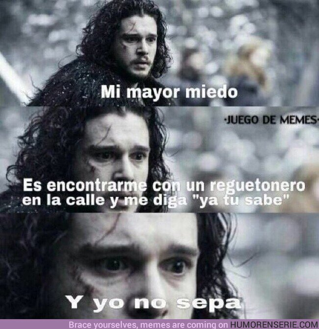 70126 - El mayor miedo de Jon Snow