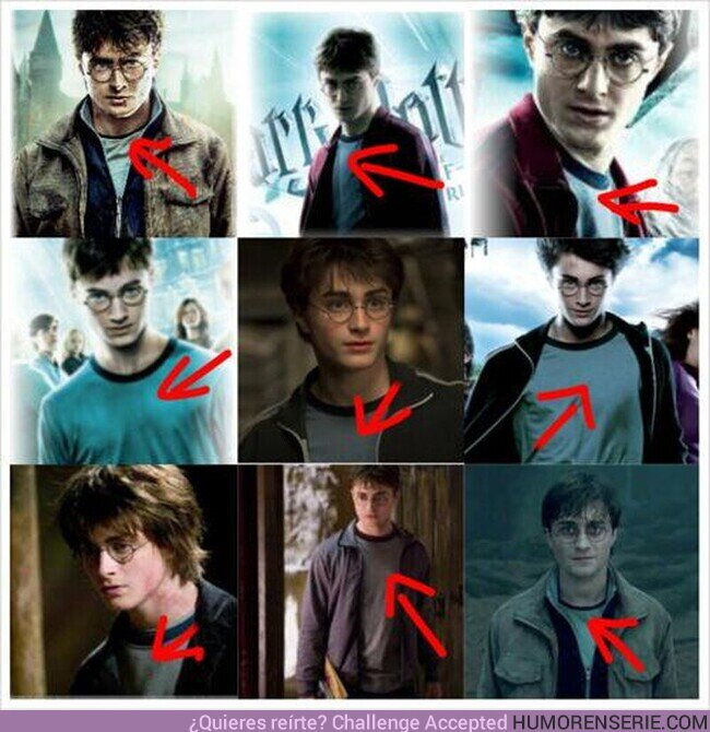 70128 - Harry Potter y el Misterio de porque siempre usa la misma camiseta