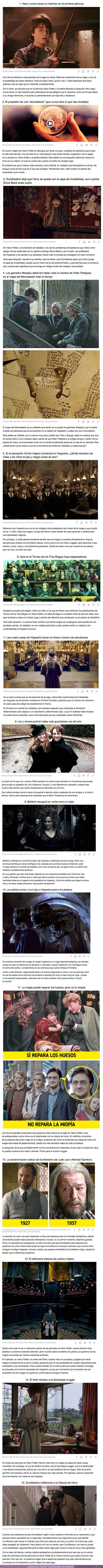 """70214 - GALERÍA: 15 Cosas sobre """"Harry Potter"""" que ahora vemos con ojos de adultos y resulta que no tienen sentido"""
