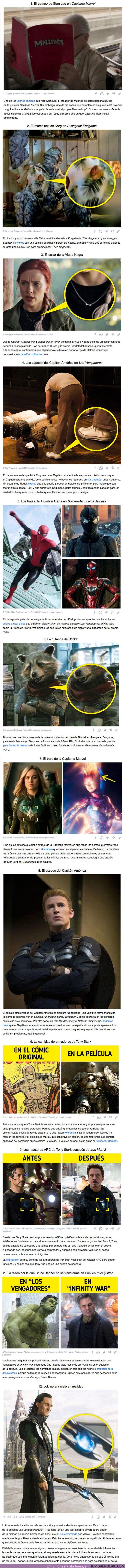 70362 - GALERÍA: 12 Significados ocultos del vestuario y utilería de las películas de Marvel que pasamos por alto