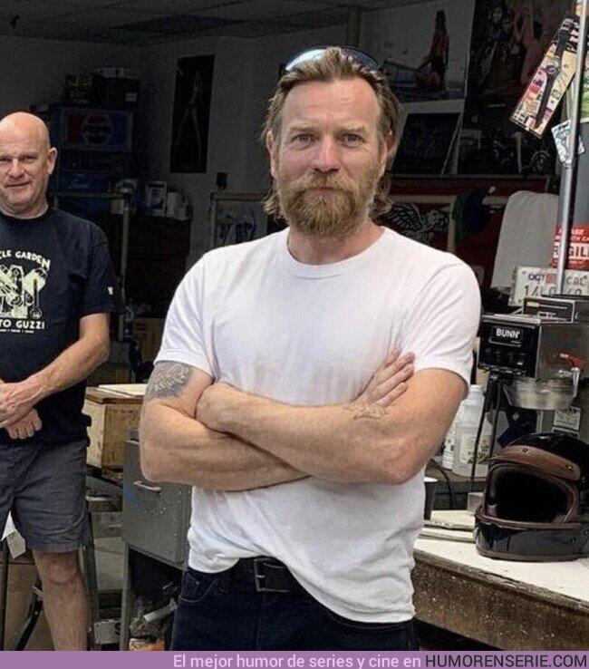 70608 - Todo el mundo sabe qué significa la barba que se ha dejado Ewan McGregor