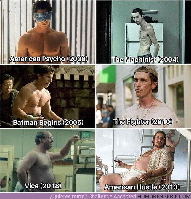 70771 - Los cambios de Christian Bale