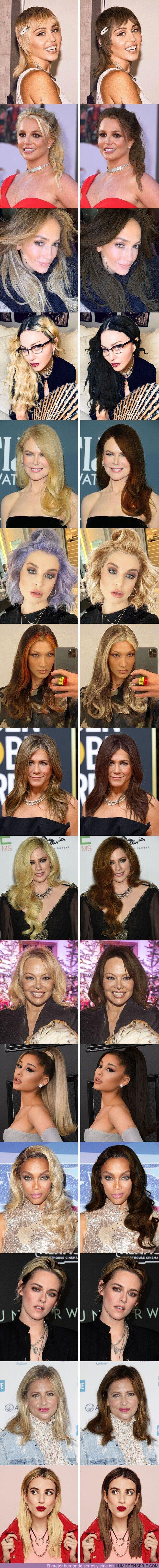 70801 - GALERÍA: 15 Celebridades a las que les devolvimos su color de pelo natural