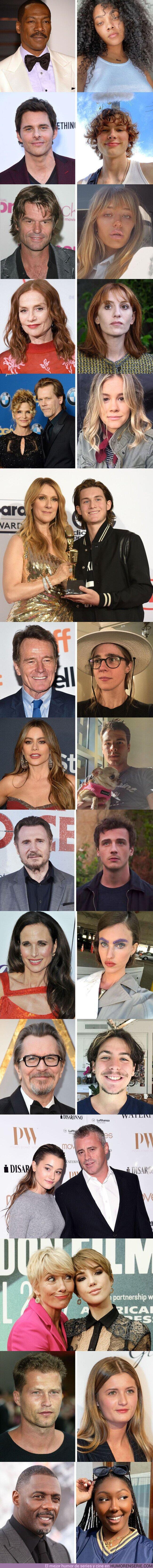 70930 - GALERÍA: 18 Hijos de celebridades que incluso sus fanáticos más fervientes no conocían