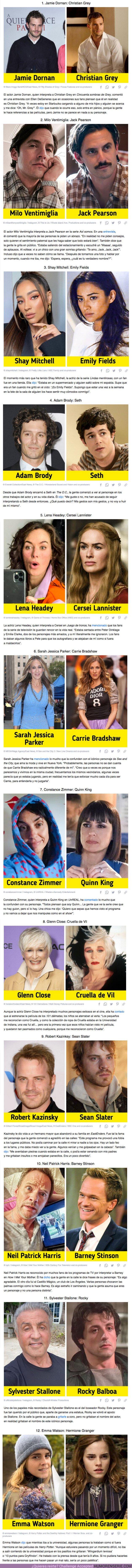 71017 - GALERÍA:12 Actores que suelen ser confundidos con el personaje más famoso que interpretaron