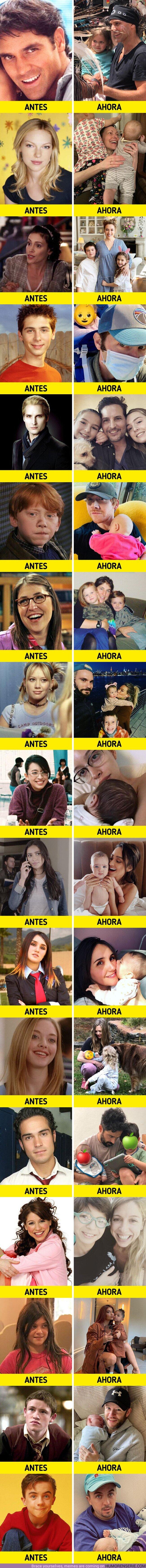 71066 - GALERÍA: 17 Famosos de nuestra juventud que crecieron muy rápido y ya son padres o madres