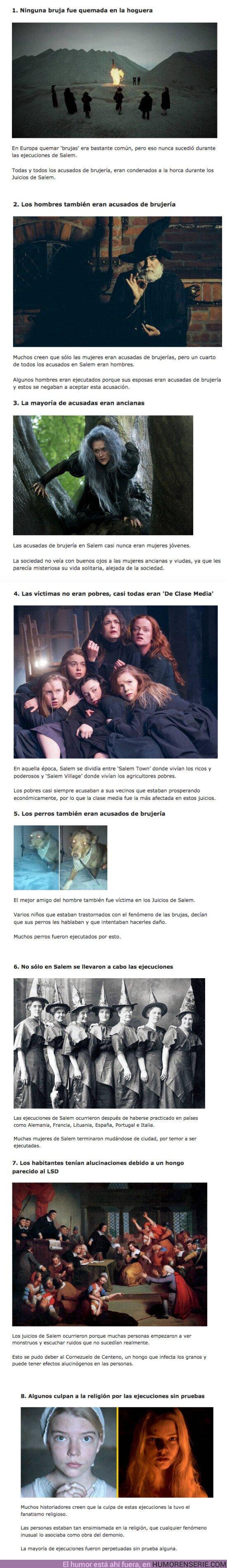 71302 - GALERÍA: ¿Cómo era la vida durante 'Las Cazas de Brujas de Salem'?