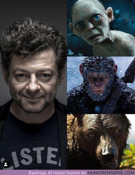 71335 - ¡Feliz cumpleaños #AndySerkis! El talentoso actor está cumpliendo 57 años. ¿Cuál consideran su mejor interpretación ?