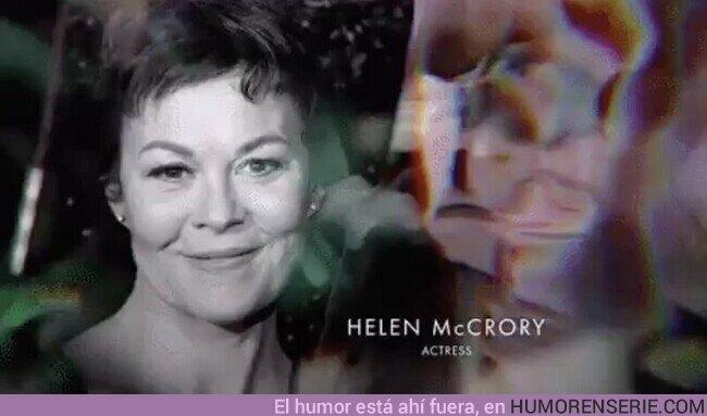 71734 - Merecidísimo homenaje a Helen McCrory. Gracias por dar vida a grandiosos personajes