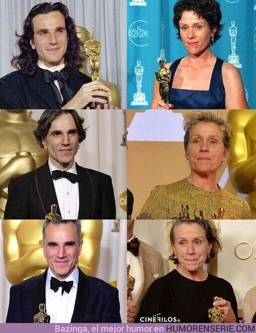 71994 - #SabiasQue Frances Mcdormand iguala la marca de Daniel Day -Lewis en ganar 3 Oscars a Mejor Actor/Actriz por un papel principal?