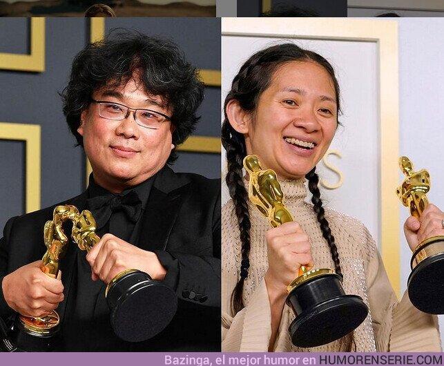72006 - Haciendo historia: Bong Joon-Ho (2020) // Chloé Zhao (2021) ?
