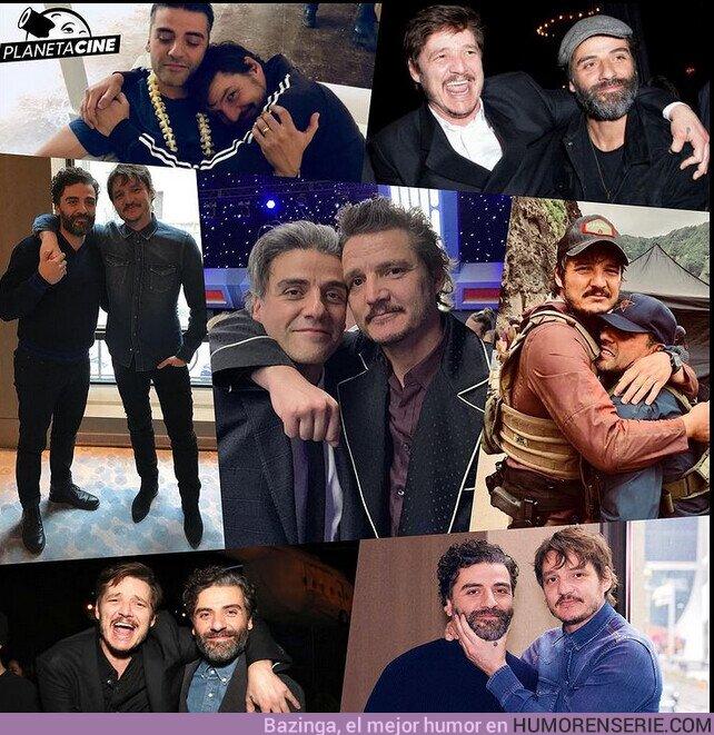 72009 - Ni McDormands, ni Kaluuyas, ni Zhaos... Nadie es tan feliz con su Oscar como Pedro Pascal!