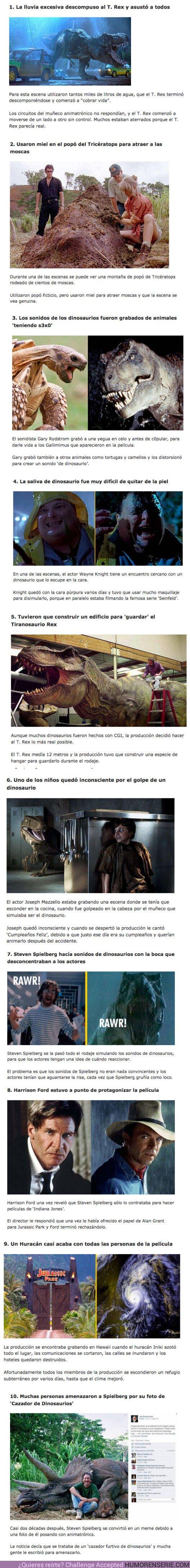 72371 - GALERÍA: 9 Cosas que pasaron durante el rodaje de la primer película de Jurassic Park
