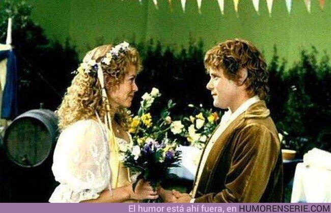 72496 - Tal día como hoy, Sam y Rosita Coto se casan.Año 3020 de la Tercera Edad