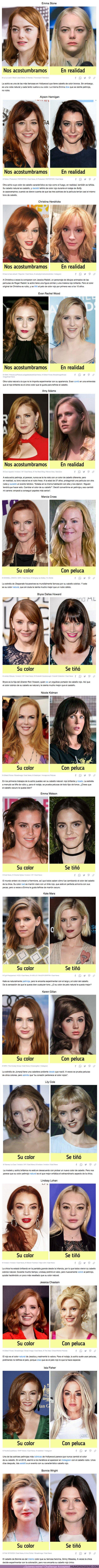 72537 - GALERÍA: 16 Actrices pelirrojas que probaron un color de cabello diferente y demostraron que el cabello de fuego es su tarjeta de presentación