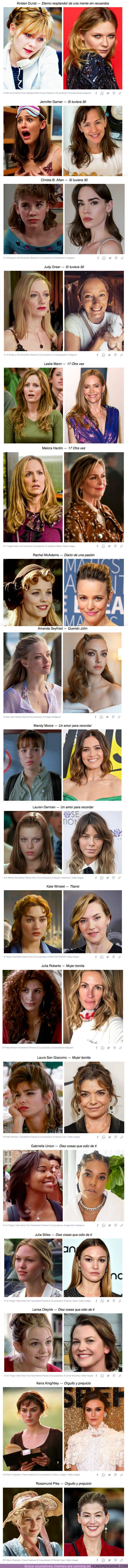 72544 - GALERÍA: Cómo se ven hoy en día 18 actrices de las películas más románticas de nuestra adolescencia